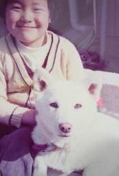 おとなしくて、かわいらしい犬でした。友達の少なかった当時の私の最良の友達でした。