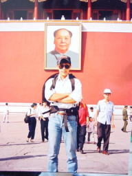 大きな旅行カバンを背負って中国各地、合計15か所を旅しました。北京の名所旧跡は沢山観ましたよ。少々生意気なのは若気の至りということで... m(__ __)m